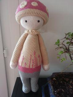 PAUL the toadstool made by Sandrine M. / crochet pattern by lalylala