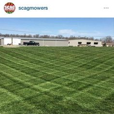 Follow @scagmowers on #instagram  #lawncare #landscaping #lawnstripes