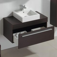 Rustic Counter Tops Stainless Steel types of counter tops bathroom vanities. Basin Cabinet, Bathroom Furniture, Bathroom, Washbasin Design, Countertops, Bathroom Interior Design, Bathroom Basin, Bathroom Design, Diy Countertops