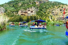 Dalyan Boat Trip from Marmaris or Icmeler with River Cruise, Turtle Beach, Mud Baths and Lunch Explore the charms of Dalyan on a full-day boat tour from Marmaris, and relax on Turtle Beach and experience Dalyan's mud baths, sail to the protected Iztuzu Beach, known for its loggerhead turtles, and admire the rock-cut Lycian Tombs, the last resting place of the Kings of Kaunos.Enjoy a relaxing full-day tour of Dalyan on Turkey's Lycian Coast, sailing by boat across t...