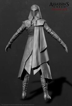 ArtStation - Evie Frye Outfit - Assassin'S Creed Syndicate, Sabin Lalancette