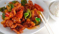 Bravčová čína Kung Pao Chicken, Tandoori Chicken, Pork, Meat, Ethnic Recipes, Syrup, Red Peppers, Kale Stir Fry, Pork Chops
