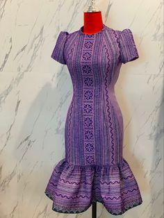 Thai silk by Petch _boutique classique Thai silk by Petch _boutique - New Ideas African Print Dresses, African Print Fashion, African Fashion Dresses, African Dress, Traditional Dresses Designs, Thai Traditional Dress, Trendy Dresses, Simple Dresses, Nice Dresses