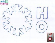 Cómo hacer Juegos de Baño para Navidad, Santa Claus y Muñeco de Nieve Symbols, Letters, Christmas Ornaments, Games, Washroom, Bag, Christmas Cushions, Christmas Table Centerpieces, Easy Crafts