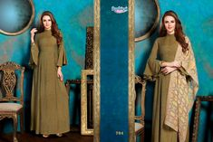 ed48089a8a6 On Booking Buy Ambica Laveena Exclusive Party Wear Fashionable Long Fancy Kurtis  Collection Wholesale price at Wholesale Price.