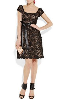 I love a black dress (or shirt, or pants, or hat...) and this gorgeous lace one is tdf (but, even on sale it's more than three grand. ouch).
