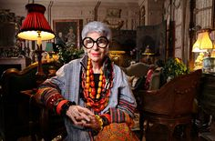 Iris Apfel - 90, Stylish and on HSN - Up Close - NYTimes.com