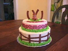 Western Birthday Cakes for Girl