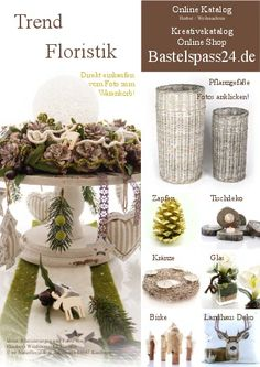 Online Katalog Bastelspass24.de Herbst und Advent 2015 Bastelideen