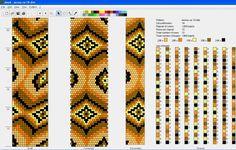 узоры для вязаннх жгутиков-шнуриков 12 | biser.info - всё о бисере и бисерном творчестве