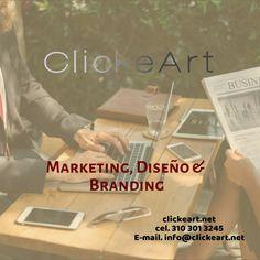 Marketing, Diseño y Branding
