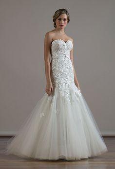 Brides: Liancarlo - Fall 2015. Wedding dress by Liancarlo