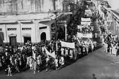 Women's Suffrage March of July 1941, in Santo Domingo