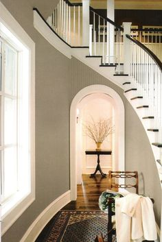 Great color for entire house - driftwood BM paint