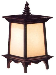 ORIENTAL FURNITURE BEST AFFORDABLE SIMPLE TABLE LAMP GIFT IDEA FOR HIM OR HER, 18-INCH PUGGI HEXAGONAL WOOD AND MATCHSTICK LANTERN, J302   - Click image twice for more info - See a larger selection of kids table lamps at http://tablelampgallery.com/product-category/kids-table-lamps/ - home, home decor, home ideas, desk lamp , gift ideas, lightning, lamp, kids lamp