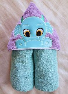 Kids Hooded TowelDragon Boy Hooded TowelChild's Hooded