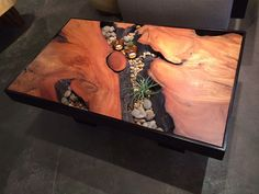 32 Awesome Resin Wood Table Design - For several reasons, resin furniture has become a popular alternative to wooden furniture created for outdoor use. It looks similar to painted wood, b. Resin Furniture, Outdoor Furniture, Inexpensive Furniture, Fine Furniture, Furniture Design, Wood Resin Table, Wood Table Design, Woodworking Furniture Plans, Wooden Diy
