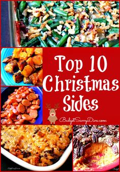 All Tested and Approved By Thousands of Home cooks  - Top 10 Christmas Sides Recipes