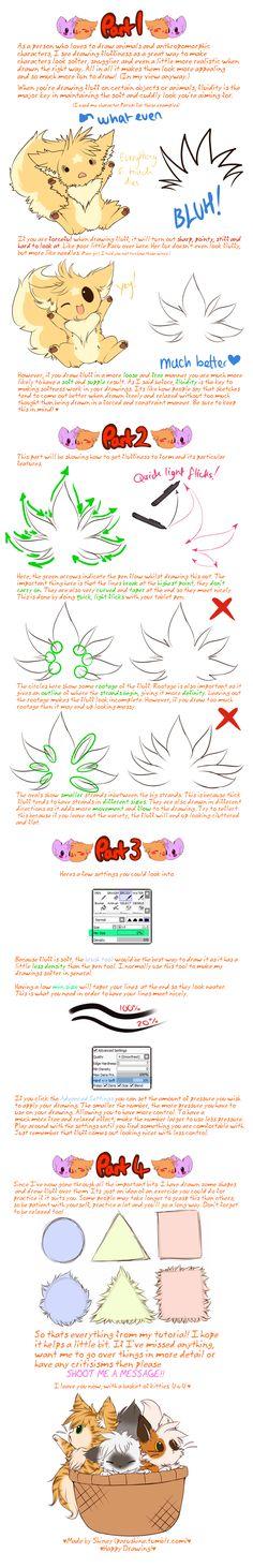 Tut: How to Draw Fluff by *Shineymagic on deviantART
