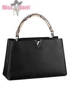 d79de6caa7d7 Сумка Louis Vuitton Capucines MM Piton Сумки Louis Vuitton, Взуття,  Гаманці, Мода,