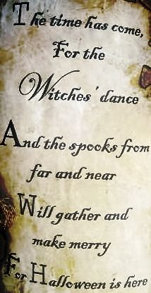The Time Has Come, For The Witchesu0027 Dance. And The Spooks From Near And Far  Will Gather And Make Merry For Hallowu0027s Eve Is Here
