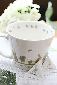 peter rabbit mug & tea bags