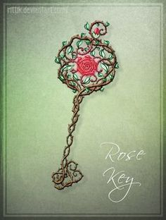 Commission - Rose Key by Rittik