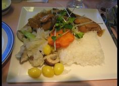 The best airline food: Singapore Airlines