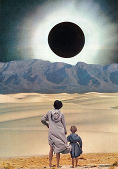 "lesstalkmoreillustration:  "" DISTANCE Art Print By Beth Hoeckel  *More Things & Stuff  """