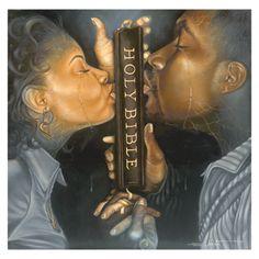 Spiritual Black Couple Love Art | Spiritual Black Art Prints & African American Gifts - 20% Off