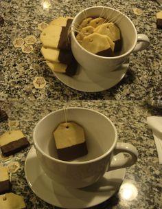 tea bag cookies #ftw