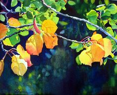 "Autumn Jewels by Linda Sherman  ~ 11"" x 15"""