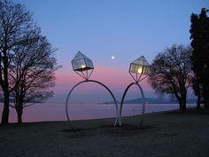 Engagement Ring Sculptures at English Bay nnnnnnnnnnnnnoooooooooooooottttttttttttttt