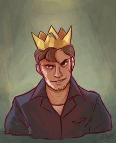 mad king ryan Achievement Hunter, Red Vs Blue, Rooster Teeth, Art Base, Cool Cartoons, All Art, Youtubers, Mad, Batman