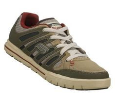 Men's Skechers Relaxed Fit: Arcade II - Gray Olive