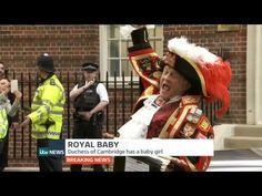 ITV Newsflash: Royal Baby Announcement - 2nd May 2015 - YouTube