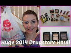 Huge 2014 Drugstore Haul!