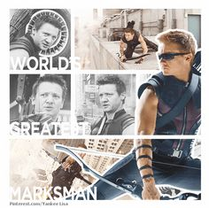 "Hawkeye. Just read a great quote in a review of the Hawkeye comic. ""Perfect aim, imperfect life trajectory."""
