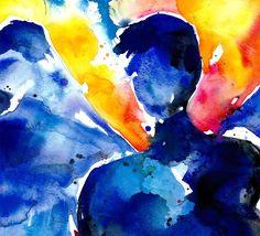 water color angel | watercolor angel