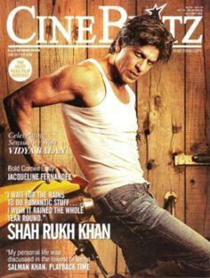 SRK - Cine Blitz magazine cover July 2011