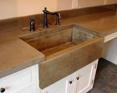 Wet Casting An A Front Sink Without The Corner S Concrete Moldsdiy