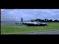 RAF de Havilland Mosquito flight in 633 Squadron Movie 1964 original, Part 2 of 2. (YouTube)