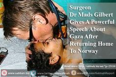 Surgeon Dr Mads Gilbert Gives A Powerful Speech About Gaza After Returning Home To Norway - Sabbah Report