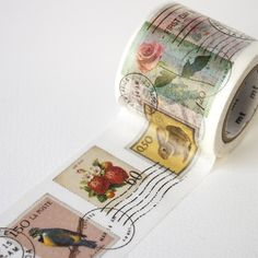 MT ex Postage Stamp Wide Washi Tape | Fox and Star UK