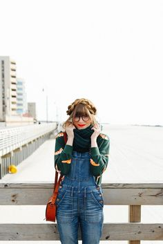Overalls Styled + Hudson! / Steffys Pros and Cons | A NYC Personal Style, Travel and Lifestyle Blog