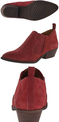 Lucky Womens Joelle Oxford  Ruby Wine #SHOES Wine Shoes, Winter Boots, Lucky Brand, Chelsea Boots, Oxford, Ankle, Women, Fashion, Moda