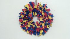 Awesome Autism Rag Wreath* - May Cause Memories www.maycausememories.com
