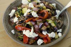 Šalát z pečenej zeleniny