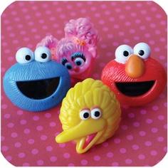Sesame Street Ring Cupcake Toppers