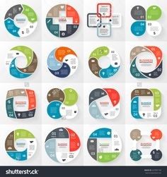 Business circle infographic, diagram 4 options royalty-free business circle infographic diagram 4 options stock vector art & more images of abstract Circle Infographic, Creative Infographic, Infographic Templates, Infographics Design, M3 Journal, Circle Graph, Circle Diagram, Data Dashboard, Abstract Template